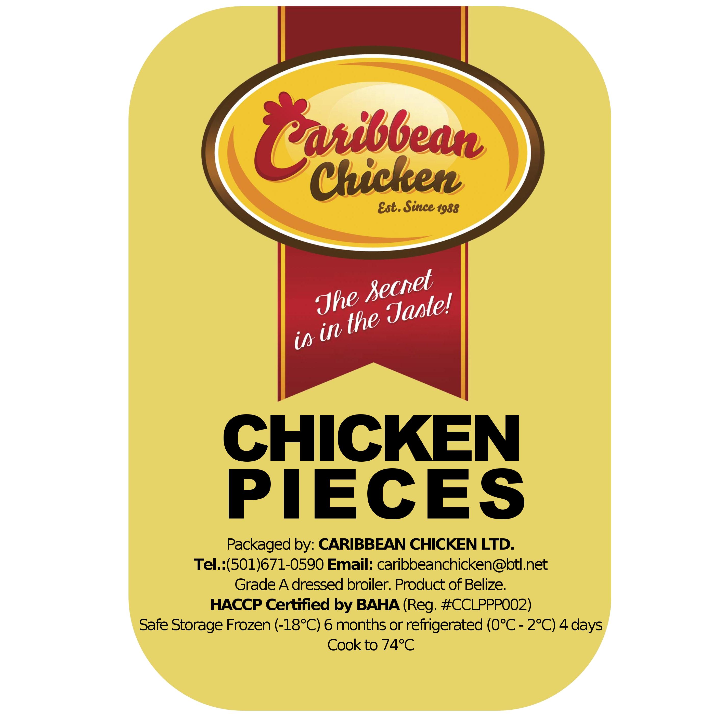 Caribbean Chicken: chicken pieces